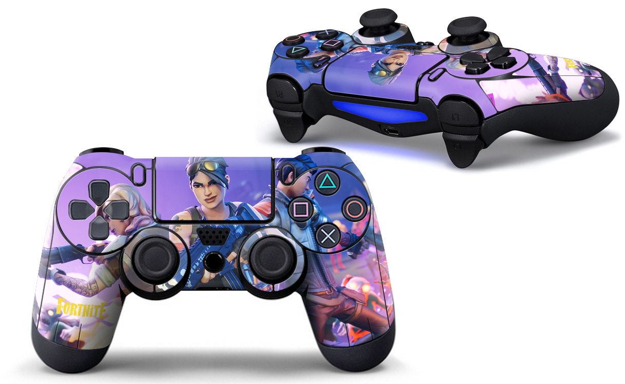 1pcs Game Fortnite Sticker PS4 Game Controller Skin Decal Vinyl for Sony PlayStation 4 for Dualshock 4 Stickers