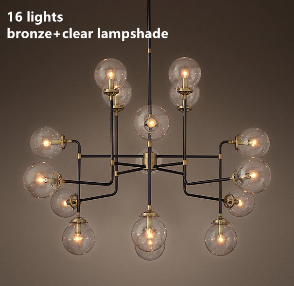 Led e27 Nordic Eisen Glas designer Magie Bean LED Lampe LED Licht. anhänger Lichter. anhänger Lampe. anhänger licht Für Esszimmer Bar
