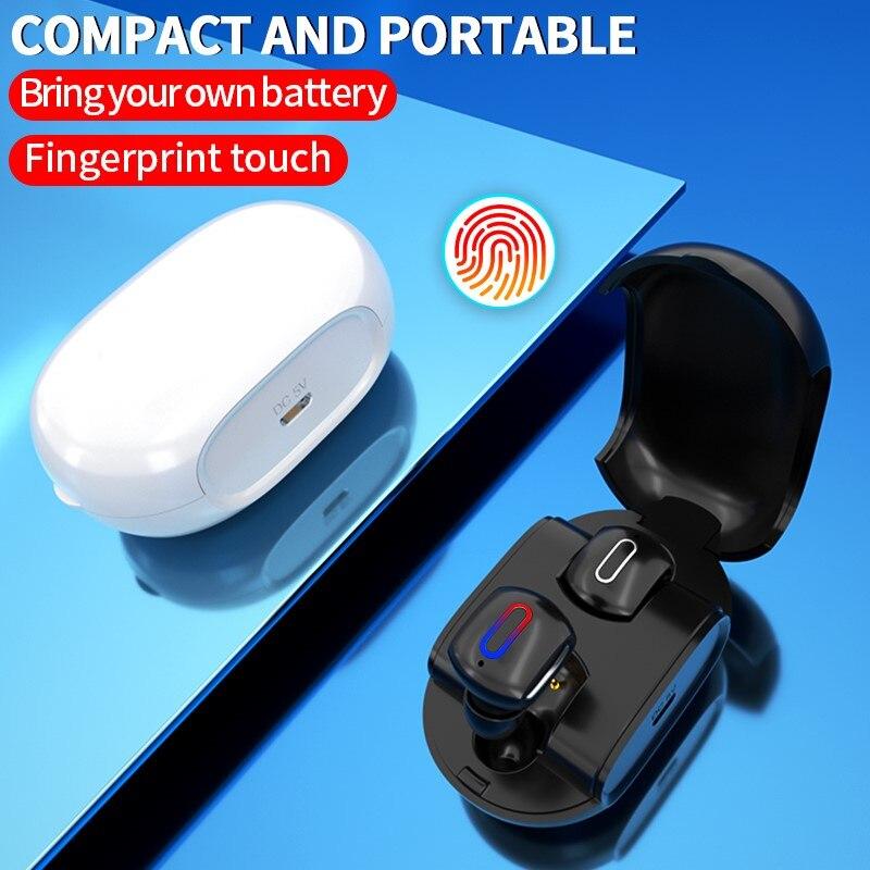 Mini écouteur sans fil TWS Bluetooth casque 5.0 Binaural haute qualité sonore appel Sport jeu écouteurs réduction de bruit avec micro