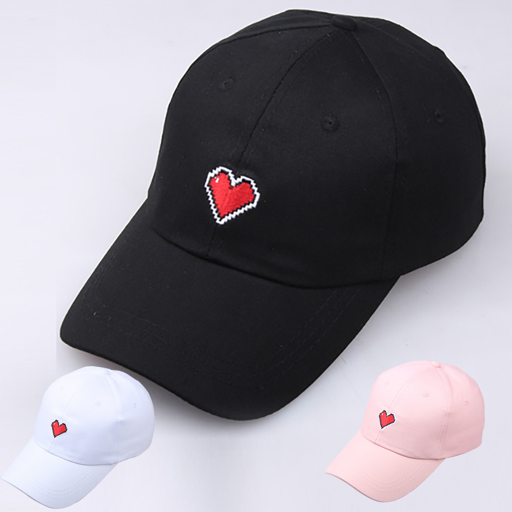 Womail   baseball     cap   Unisex Couple Fashion Simple Sweet   Cap   Embroidered Love Lace Female Hat Adjustable Hat 2019 dropship f21