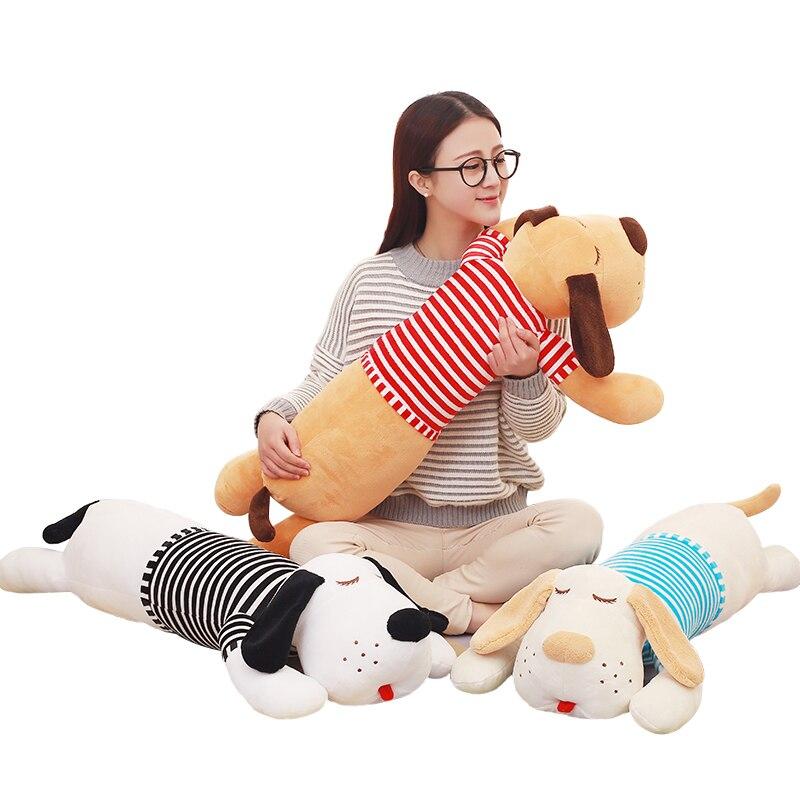 Cute Pillow Doll : 70 or 90cm Staffed Soft Plush Toy Giant Lies Prone Dog Doll Cute Pillow Creative Dolls Kids Toys ...