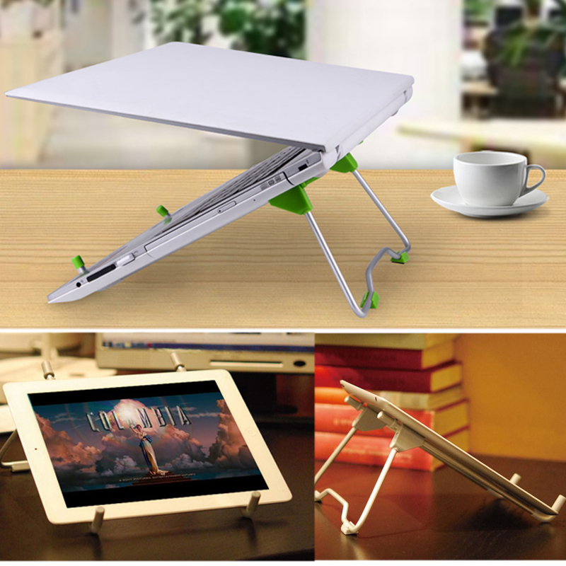 Foldable Laptop Stand Holder Adjustable Portable Lapdesks For Universal Notebook Pad 1/2/3/4mini Tablet Bracket Stand Holder