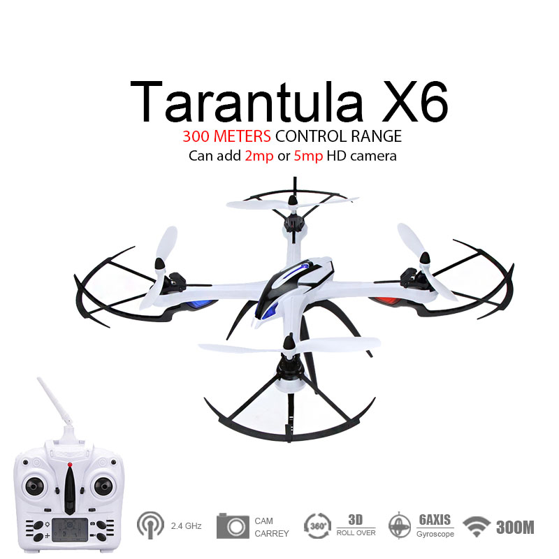 Hot Sale! Drone YiZhan Tarantula X6 JJRC H16 RC Quadcopter  With 2mp Or 5mp HD Camera 6-Axis 2.4GHz RC Helicopter  RTF gunsafe bs95 l43