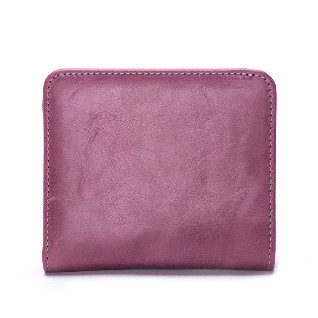 Fashion Convenient Genuine Leather Women's Mini Wallet