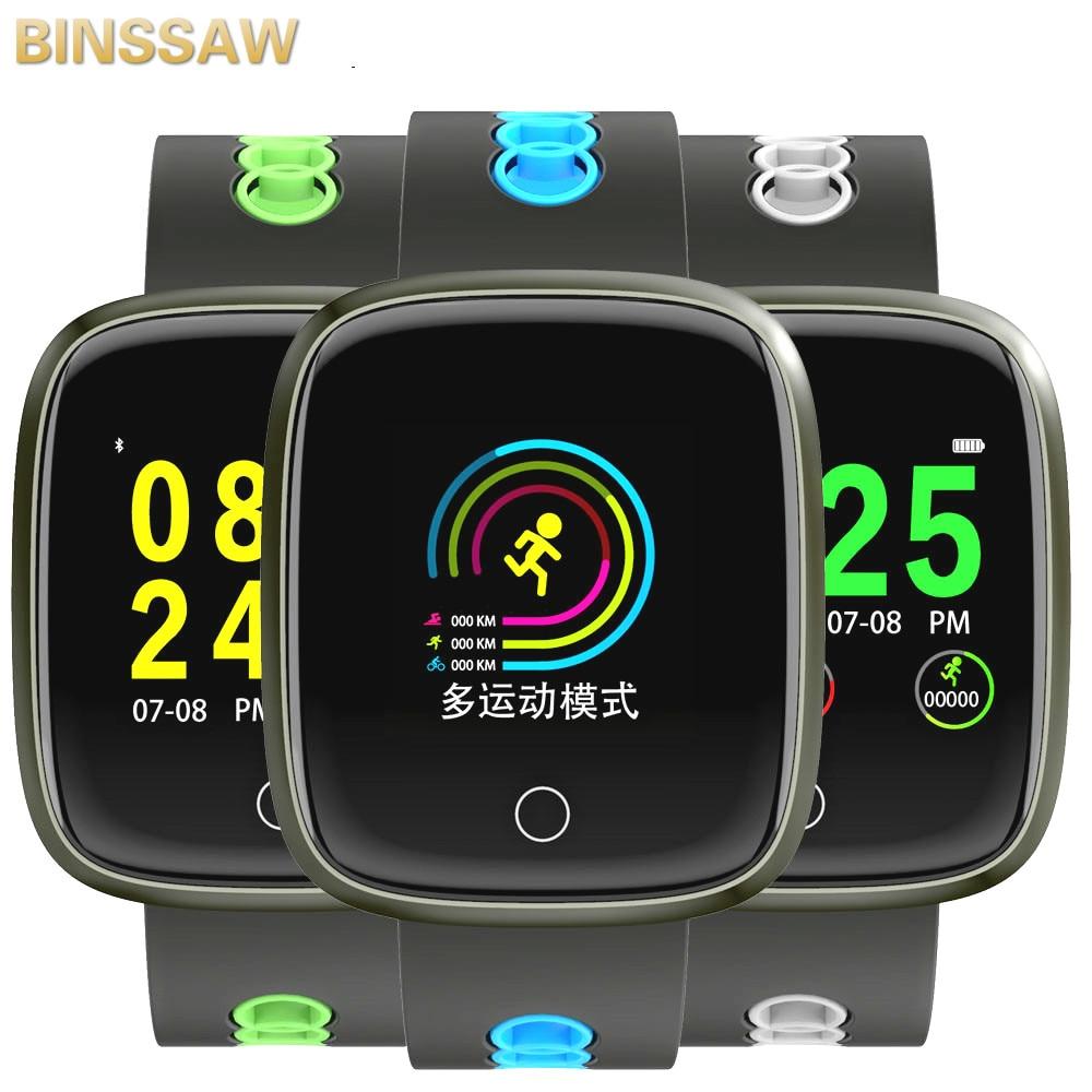 $29.99 BINSSAW Bluetooth Smart Watch DK03 Fitness Tracker Smartwatch Heart Rate Bracelet Band For Samsung Huawei Xiaomi LG Apple iphone