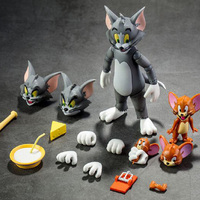 DM Cat And Mouse Cartoon Tom and Jerry S.H.Figuarts S.H.Figuarts SHF PVC Action Figure Anime Toys Figure for children gift