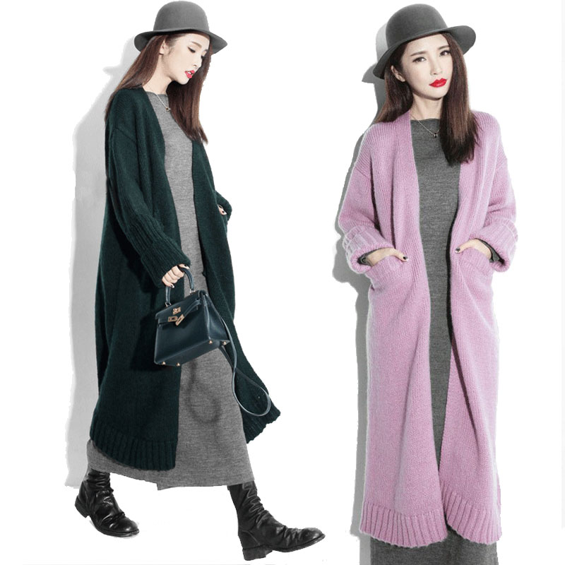 New ultra long sweater for fall/winter thick Cardigan over the ...