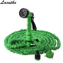 Car Wash Gun 25FT-150FT Garden Hose Expandable Magic Flexible Water Hose EU Hose Plastic Hoses Pipe With Spray Gun To Watering