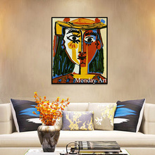 Canvas Painting Wall Picture Picasso Nordic Abstract Hope Living Room Modernism Art Unique Decoration Home arts for Decor