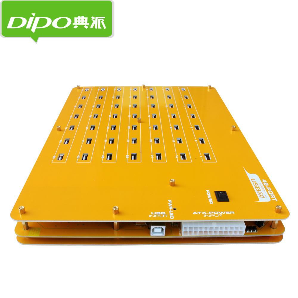 DIPO 2 4 7 10 16 19 20 49 port usb hub usb2.0 hub port bitcoin bányászathoz Ipari besorolás