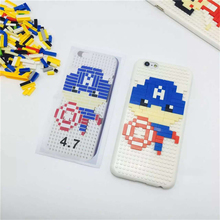 Original DIY Case for iPhone 7 6 6S Plus Pokemon Cover