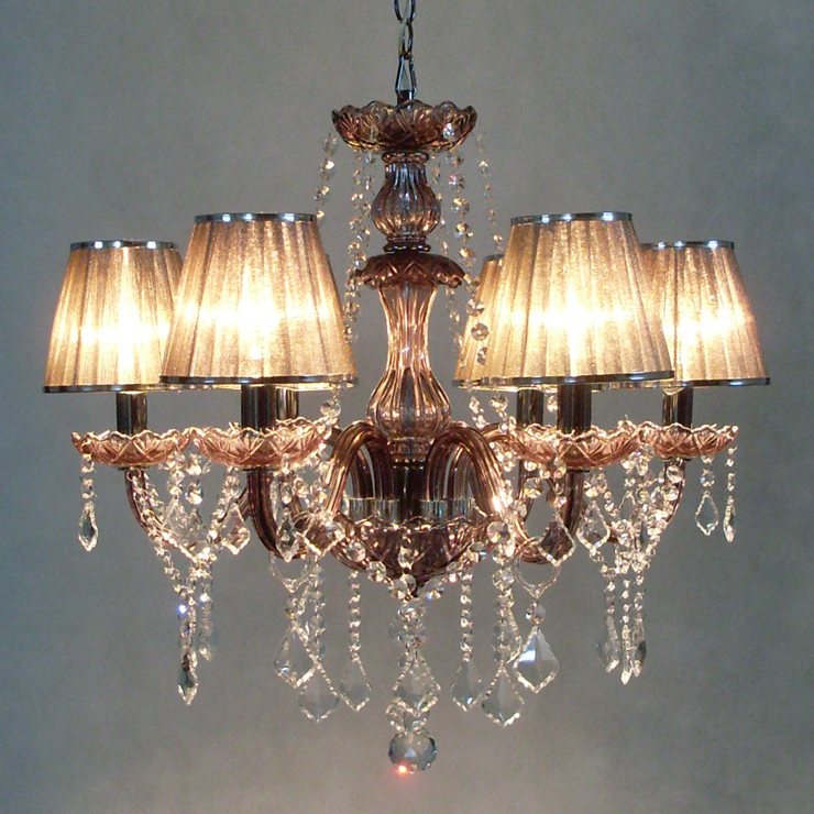 2014 Top Fasion Chandeliers Candle Crystal Light Lamp Lighting With 6 Lights For Living Room Modem India