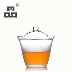 TANGPIN kawy i zestawy do herbaty odporny na wysoką temperaturę japoński szklany imbryk czajnik gaiwan dzbanek do herbaty drinkware Zest. naczyń do herbaty Dom i ogród -