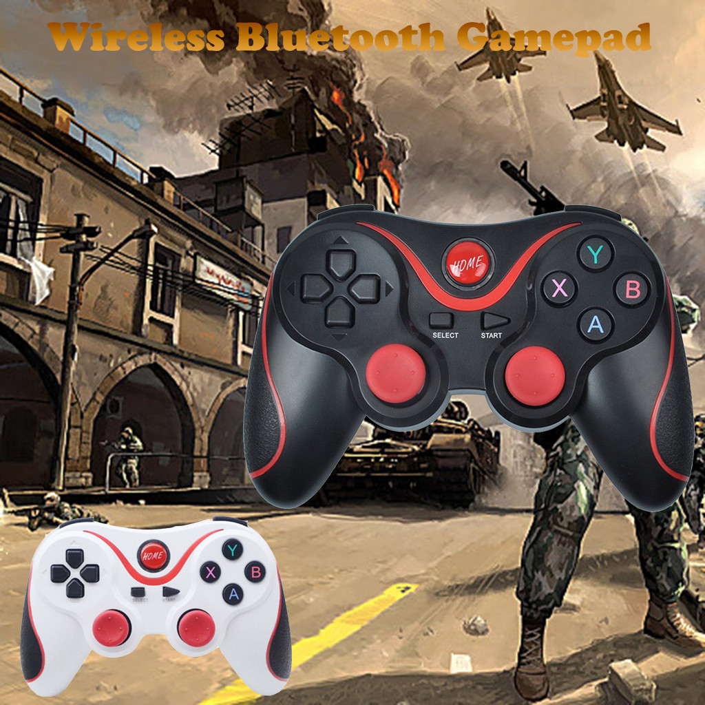 Bluetooth 3.0 wireless transmission Game Controller bluetooth gamepad for Phone TV Box Tablet PC gaming controller-in Gamepads from Consumer Electronics