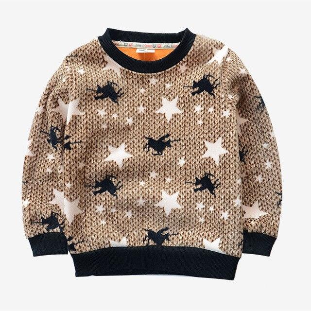 Осень зима дети мода футболки мальчик двусторонняя бархат оказать подкладки верхней одежды мальчика толстовки