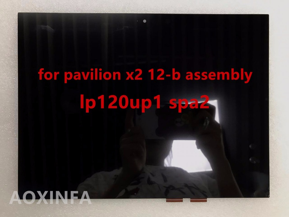 New original 12.0-inch for hp for pavilion x2 12-b assembly lp120up1 spA2 without borders, after rigorous testing karen cvitkovich leading across new borders