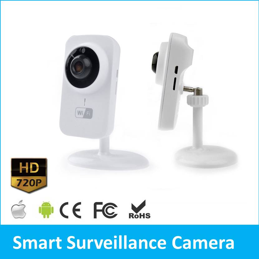 Wholesale!!! 20Pcs Wifi Smart HD 720P Wireless IP Camera P2P Video Surveillance Systems Network IP Cam S1 wireless security cam 960p hd video surveillance recording streamed on smart devices 2 way audio surveillance nanny or pet cam