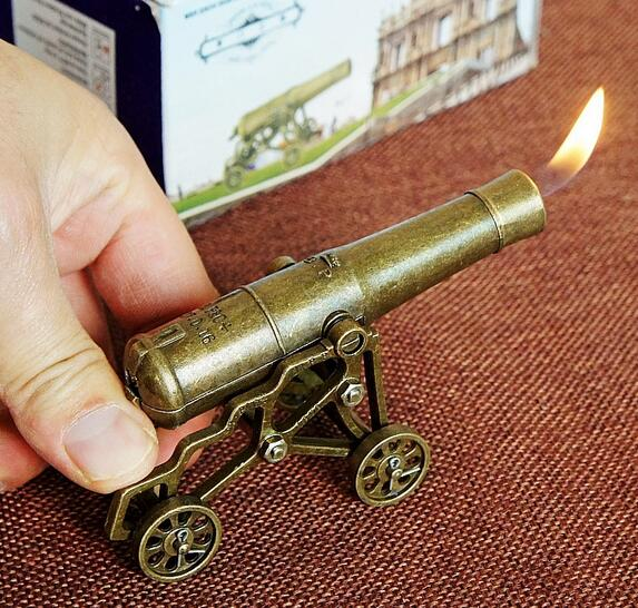 Offer antique model iron art new model metal cannon lighter desk set  creative gifts-in Figurines & Miniatures from Home & Garden on  Aliexpress.com | Alibaba ... - Offer Antique Model Iron Art New Model Metal Cannon Lighter Desk Set
