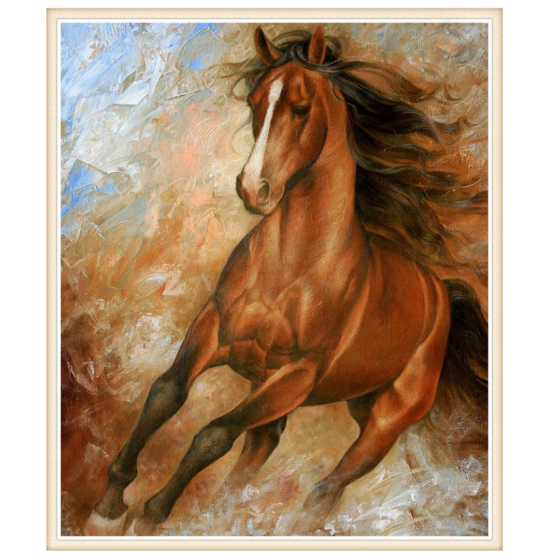 5D,Diamond Embroidery,New,Full,DIY,Mercedes Horse Diamond Painting,Needlework,Mosaic,Resin,Cross Stitch,Crafts,Rhinestone, Art,