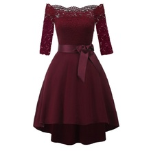 summer clothes for women new arrival 2019 elegant evening luxury formal midi dress wedding party night free shiping