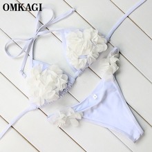 Floral Micro Push Up Bathing Suit