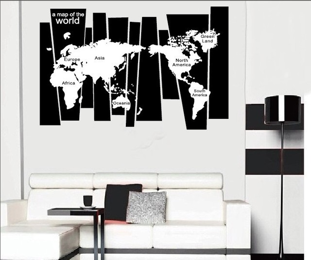Tree trunk wall decal sticker seven continents world map wall tattoo tree trunk wall decal sticker seven continents world map wall tattoo poster wallpaper decor graphic art gumiabroncs Image collections