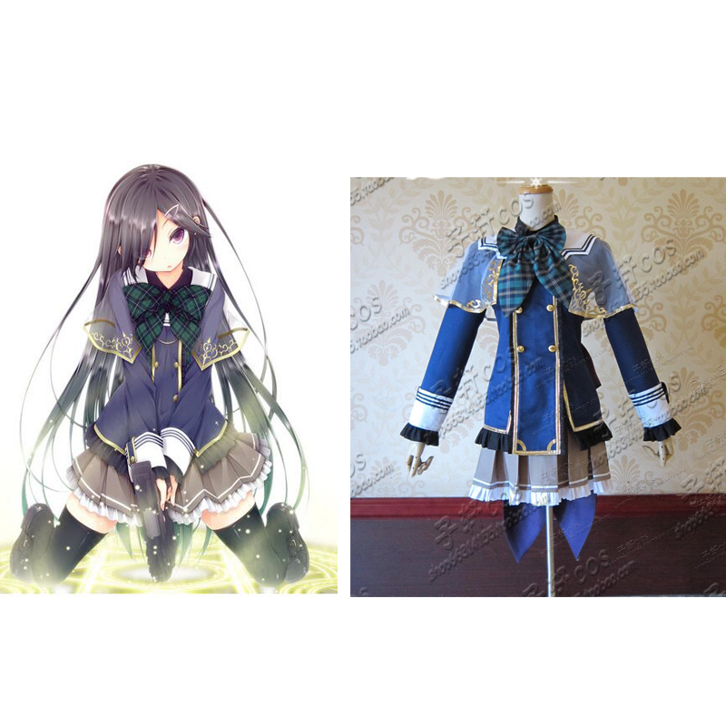 2016 Magical Warfare Mui Aiba cosplay costume custom any size