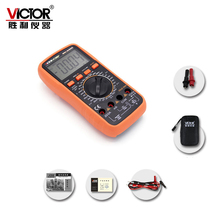 VICTOR VC980+ Ture RMS Digital Multimeter Handheld Autoranging Electronic Instrument with Large LCD Display