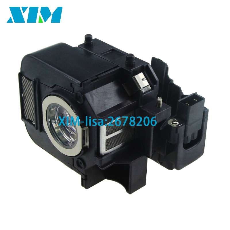 Free Shipping ELPLP50 Projector Lamp With Housing For Epson Powerlite 85, 825, 826W, EB-824, EB-824H, EB-825H, EB-826WH, EB-84H elplp74 for eb 1930 powerlite 1930 powerlite 1935 compatible lamp with housing free shipping