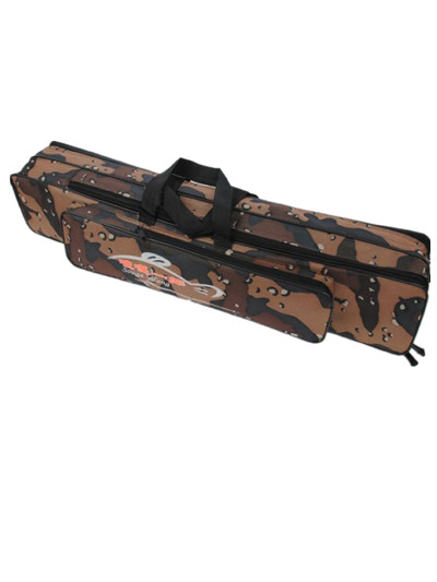 Fishing bag  120cm 2 layer with big capacity for bag fishing tackle rod lures wheel Multi-usage