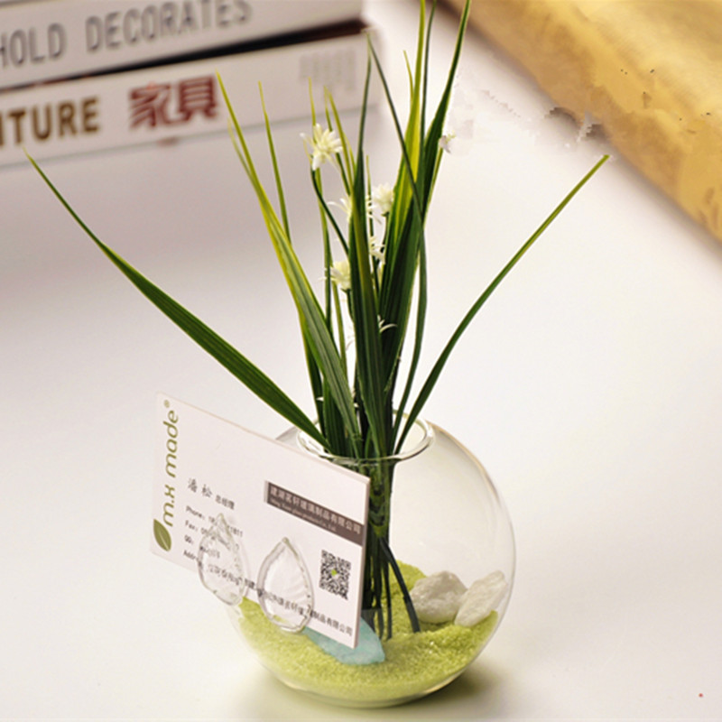 betty store diameter 9cm beautiful glass material name betty store diameter 9cm beautiful glass material name card holder creative glass terrarium vase home decorative business gift colourmoves