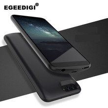 Egeedigi 3700mAh/7500mAh Full protection Shockproof Power Bank Cover For Huawei Honor V10 External Charging Battery Charge Case