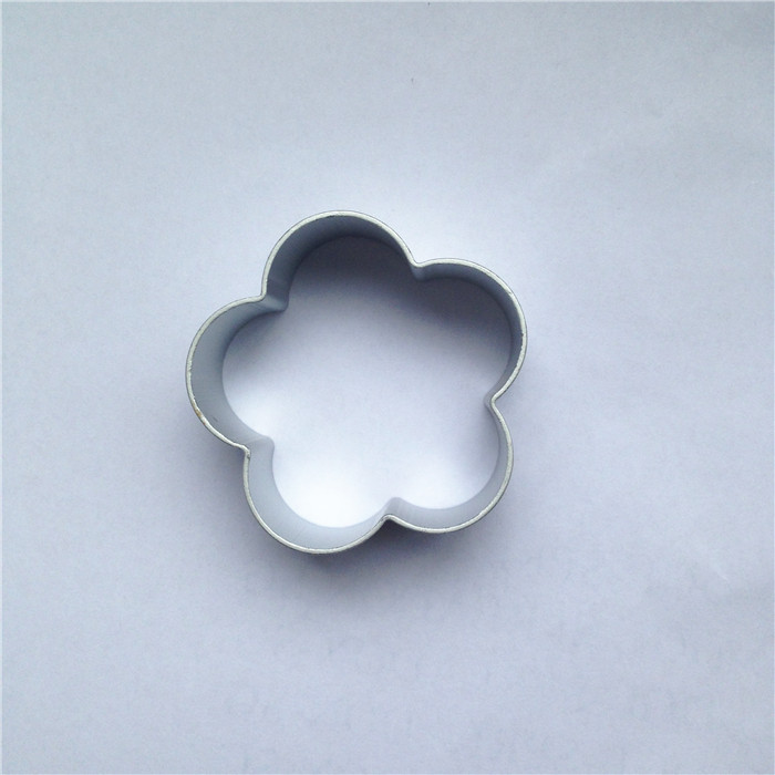 Free Shipping Plum Flower Shape Cookie Mold Form For Cookies Aluminium Alloy Cake Fruit Biscuit Cutting Mould