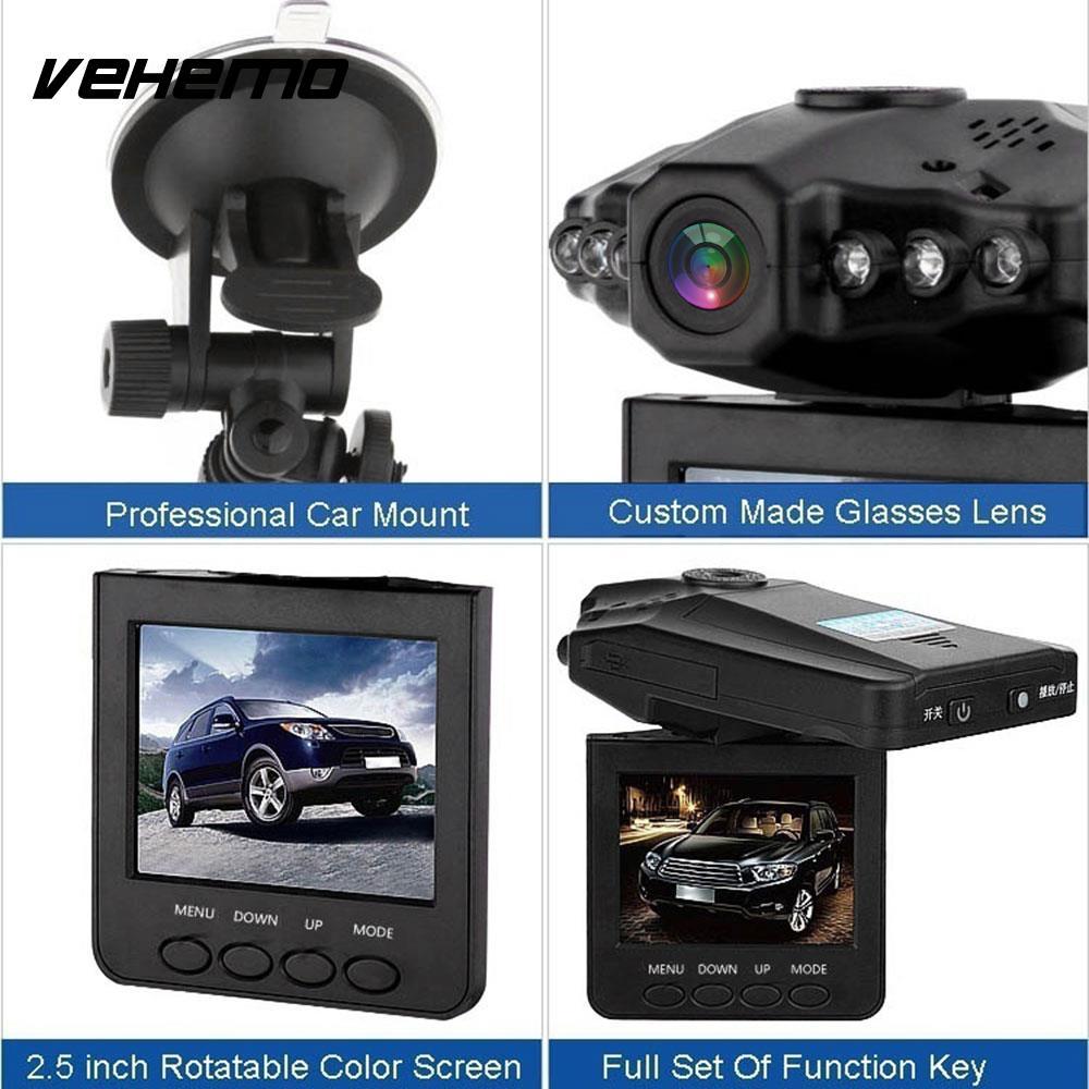 Тире Камера автомобиля видео Регистраторы Портативный вождения Регистраторы Камера видео фотографии 2,2 дюймов Blackbox ультратонкие H198 мини