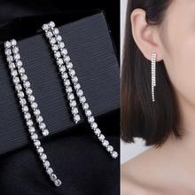 S925 silver earrings,Claw chain tassel earrings,Jewelry & Accessories Fashion Jewelry,Earrings,Stud Earrings.