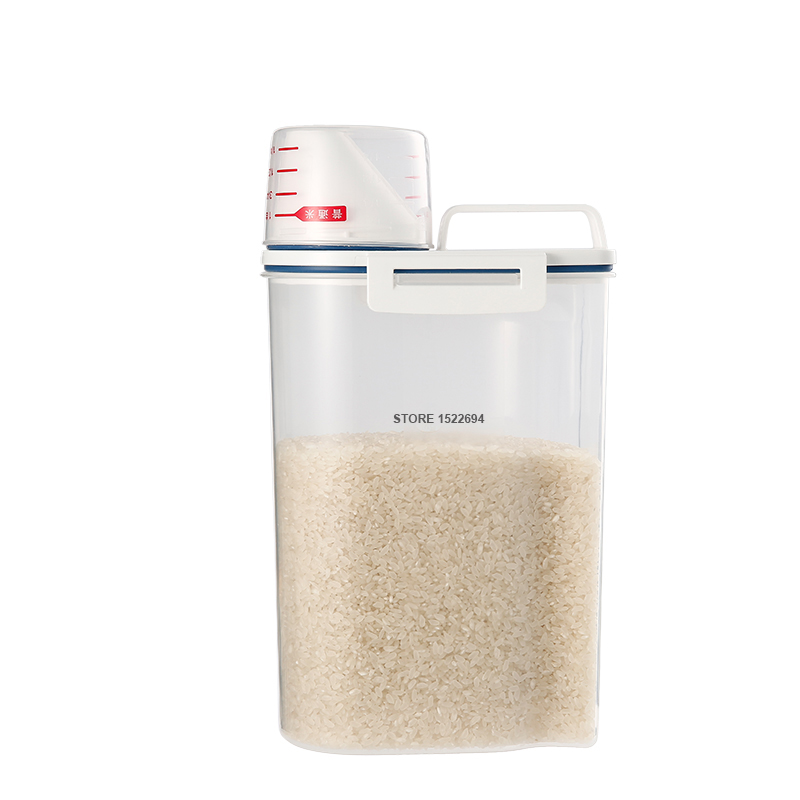 aliexpress : buy premium 2.3l rice storage container home