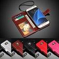 """S7 Luxury Vintage PU carteira de couro Filp tampa da caixa de telefone para Samsung Galaxy S 7 G9300 5.1 """" com quadro da foto"""