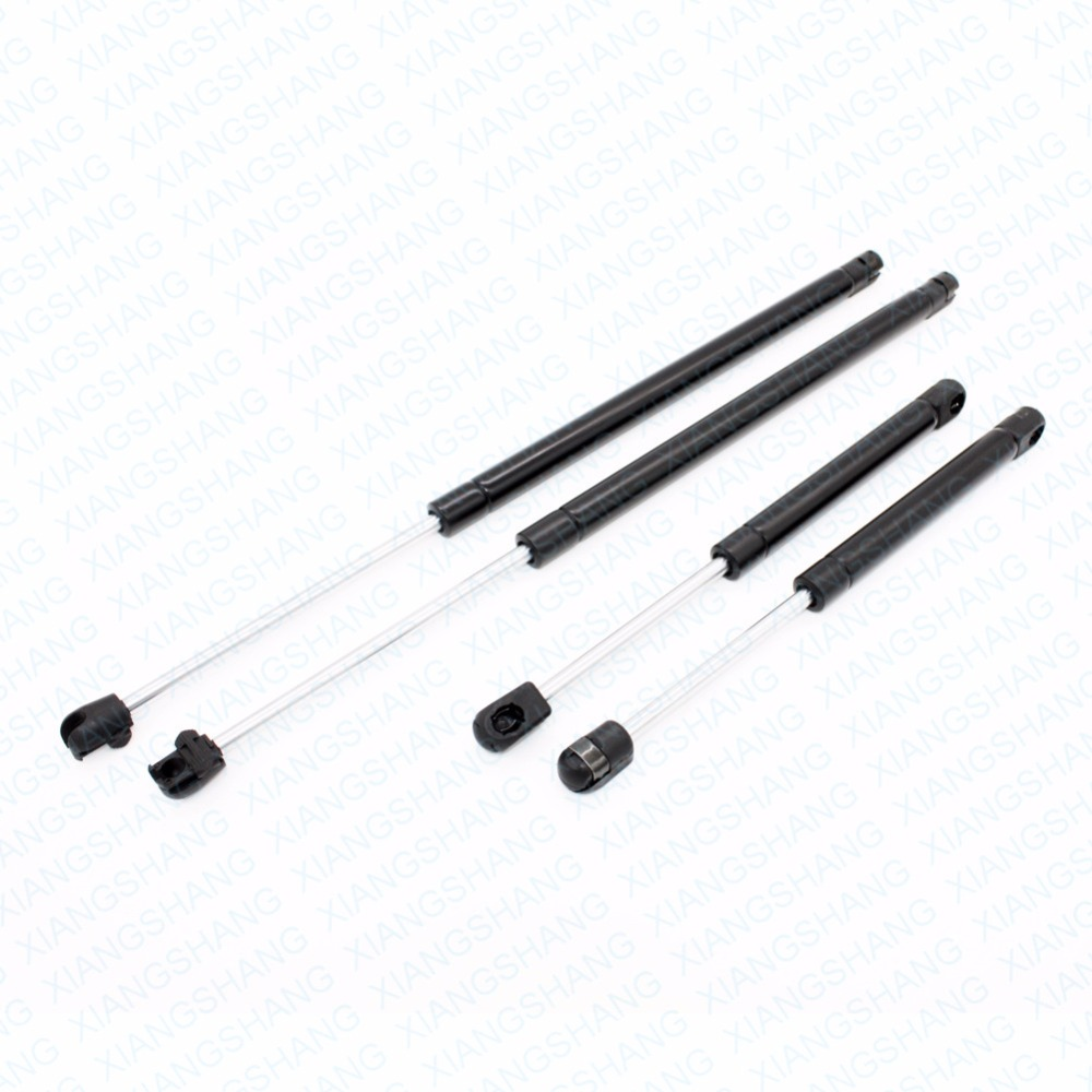 ФОТО 4pcs For 1999-2000 2001 Chrysler LHS Auto Rear Trunk & Front Hood Gas Charged Spring Struts Lift Supports Damper