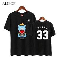 Youpop KPOP WINNER EXIT Concert Album Shirts K POP 2016 Casual Cotton Tshirt T Shirt Short