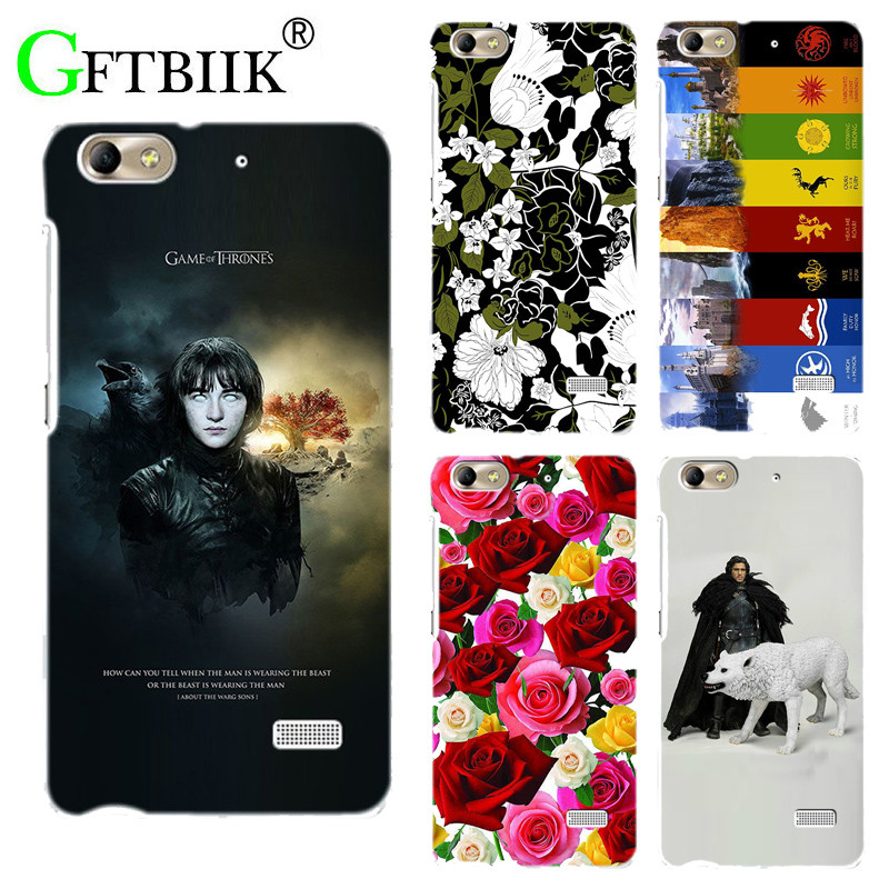 For Game Of Thrones 7 Case For Huawei Honor 4C Huawei G Play Mini Cover Hard Plastic Printed Phone Back Shell Football Case ...