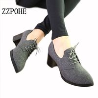 Best Selling New Spring Women Shoes Stylish And Comfortable High Heeled Shoes Pointed Retro Lace Wild