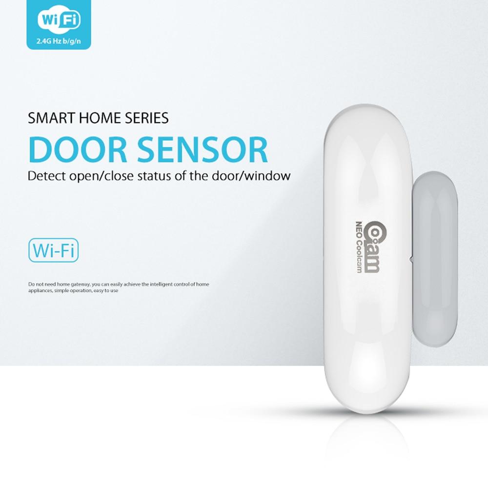 NEO COOLCAM NAS-DS01W Wifi Door Window Sensor,App Notification Alerts,No Expensive Hub Required