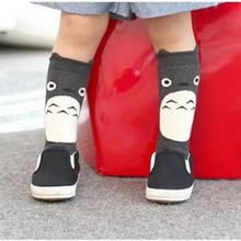 Boys girls infant socks baby lovely cartoon animal socks knee high girl leg warm autumn kids socks knee spring autum clothing