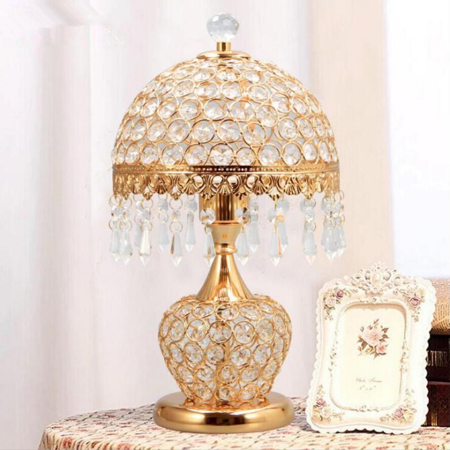 Moderne kristall led tischleuchte lampen High power led beleuchtung ...