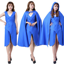 Adult Cospaly costume women Power game cos fire and ice cosplay clothing dragon mother Daenerys cos clothing cape аксессуары для косплея cos cosplay