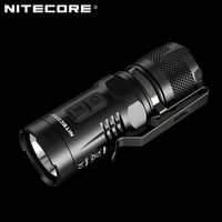1 pc NITECORE EC11 900 lumens EDC torch Mini CREE LED Pocket Clip with red light