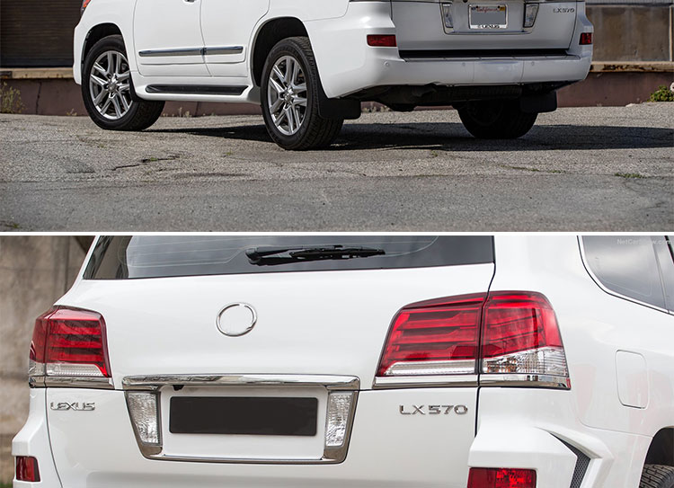 Car Styling RIGHT SIDE For Lexus LX570 2012-2014 Taillights LED Tail Light