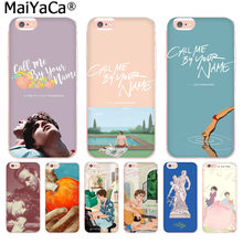MaiYaCa Call Me by Your Name poster Luxury Fashion Phone Case for iphone 11 pro 8 7 66S Plus X 10 5S SE XR XS XS MAX cover(China)