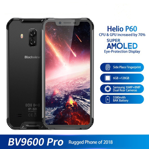 "Image 5 - Blackview BV9600 Pro 6.21"" 19:9 FHD Mobile Phone Octa Core 6GB+128GB 5580mAh Android 8.1 NFC Dual SIM IP68 Waterproof Smartphone"