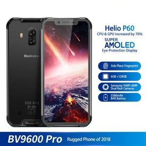 "Image 5 - Blackview BV9600 Pro 6.21 ""19:9 FHD โทรศัพท์มือถือ Octa Core 6 GB + 128 GB 5580 mAh Android 8.1 NFC Dual SIM IP68 สมาร์ทโฟนกันน้ำ"